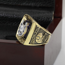 Bottom price 1970 Baltimore Colts Replica Super Bowl Copper Custom High Quality Championship Rings with Gorgeous Wooden Boxes(China)