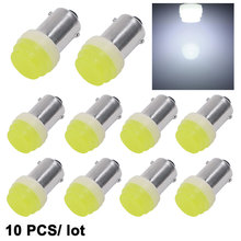 Buy 10pcs 12V Interior LED BA9S White Ceramic High Power Reading Light Lamp Bulb t4w Auto Car styling Signal Lights New for $3.38 in AliExpress store