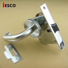 Stainless steel handle fire door lock fire door fire door lock door lock passage lock