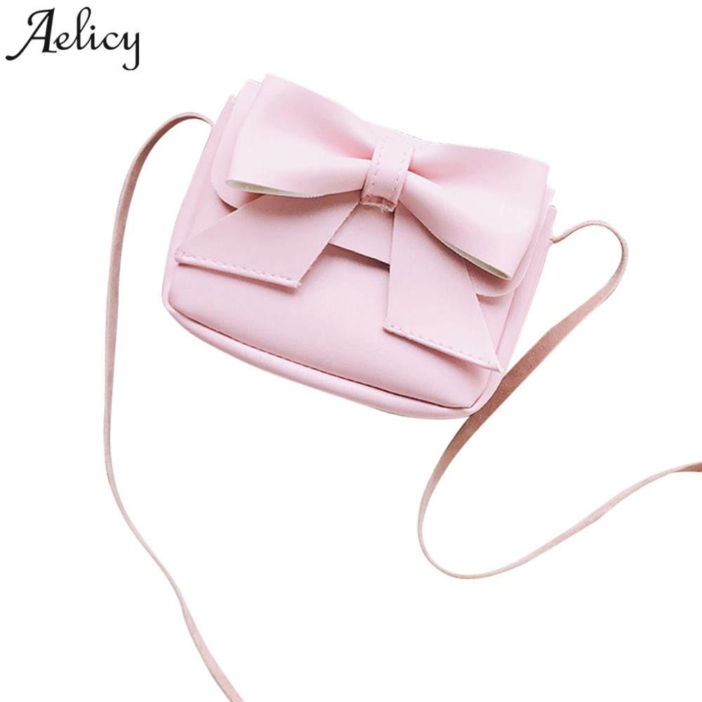 Fashion Cute Fluff Mini Bowknot Crossbody Bags Soft Handbags Bag Purse For Girls