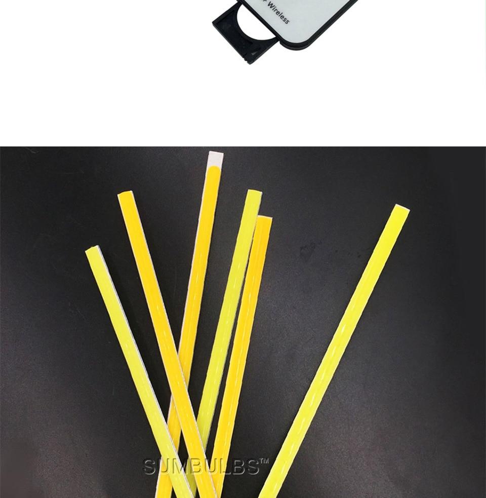 dc 12v 10w 20w 60cm 40cm 30cm 20cm cob led strip car light (9)