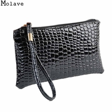 Molave wallet female Coin Purse Bolsa 2017 Womens PU Leather Clutch Bag Coin Purse purse Clutchwallet women lucury 17may31(China)