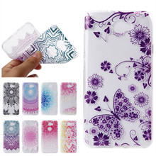 Y6 II Compact Cover Case Silicone Soft Clear Mobile Phone Back Cover Shell Coque Gel For Huawei Y6II 2 ll Compact Etui Capinhas