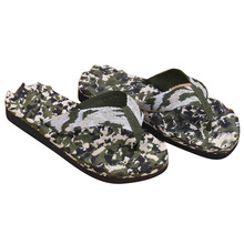 Casual Slippers Men Summer Camouflage Flip Flops Shoes Sandals Slipper indoor & outdoor Flip-flops Zapatillas Hombre Beach Shoes(China)