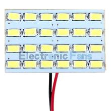 3W 24 Led Board 12V Car Interior Dome Reading Lamp Light Super Bright Energy Saving Lamp Board 5730