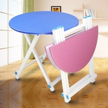 Folding dining table Portable folding table Outdoor stall table Learning table(China)
