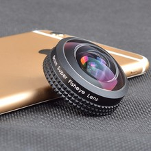 Apexel Optic Pro Lens, Super Wide Cell Phone Camera Lens Kit 238 degree 0.2X Zoom Magnificat for iPhone and Android Smartphones(China)