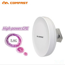 COMFAST 3-5KM Long Range Outdoor CPE 5Ghz 300Mbps Wireless Access Point bridge CF-E211A Repeater& extender for Ip Camera Client