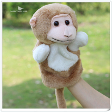 Lagopus 26CM Children Doll Cute Cartoon Monkey Animal Plush Finger Hand Puppet Toys Classic Children Figure Toys Gifts for Kids(China)