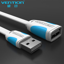 VENTION USB 2.0 Male to Female USB Cable 1m 2m 3m 5m Extend Extension Cable Cord Extender For cellphone(China)