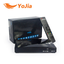 Genuine V8Se Digital Satellite Receiver with AV Support USB Wifi WEB TV Biss Key 2xUSB  CCCAMD NEWCAMD as S-V8