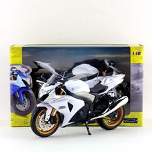 Free Shipping/Automaxx Toy/Diecast Metal Motorcycle Model/1:12 Scale/SUZUKI GSX-R1000 Super/Educational Collection/Gift For Kid(China)