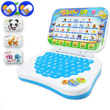 Mini PC English Learning Machine Computer Laptop Baby Children Educational Game Toy Electronic Notebook Study Music Toys Gifts(China)