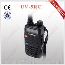 2PCS/hot BaoFeng UV-5RC Handheld VHF/UHF Two Way Radio 136-174Mhz&400-20MHz 5Watts  Two Way Radio