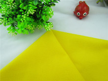 Lemon Yellow  fabric for DIY sewing Stuffed toys sofa furniture material Warp knitted brushed Plain Loop velboa velvet