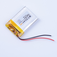 652535 3.7V 520mAh Lithium li Polymer Li-ion Rechargeable Battery For speaker small toys mp3 mp4 mp5 GPS PDA DVR Watch(China)
