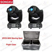 SONGXU Flight case 2in1 For 90W Gobo LED Moving Head Light 6/16 Channel  for Stage Theater Disco Nightclub Party/SX-MH90