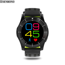 SENBONO G8 Smartwatchs Bluetooth 4.0 fitness tracker SIM Card Heart Rate Blood pressure smart watch For Android IOS