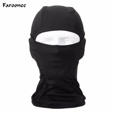 2017 Hot Sale Outdoor Protection Full Face Lycra Balaclava Headwear Ski Neck Cycling Motorcycle Mask Skullies & Beanies S703