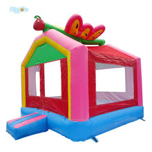 Free Shipping Commercial Grade Hot Sale PVC Material Inflatable Bounce House Kids Toys(China)