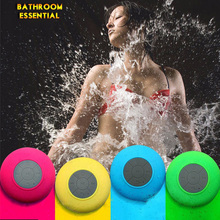 Wireless Bluetooth Speaker BTS-06 Wireless Handsfree Mini Stereo Music Player Shower Suction Portable Boombox For iPhone Samsung