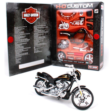 1:18 Maisto Model Motorcycle Toys, Simulation Alloy Assembled Harley 2002 CVO Custome Motor, Adult DIY Car Toy, Brinqyedos Gift(China)