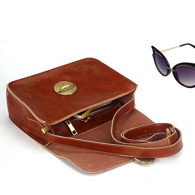 2016 New Women Lady Faux Leather Vintage Retro Mini Handbag Retro Shoulder Satchel Crossbody Tote Hobo Messenger Bags<br><br>Aliexpress