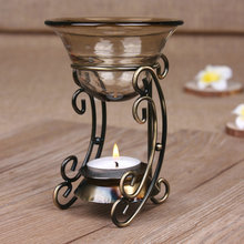 Decoracion hogar incense burner Iron design restoring ancient ways aromatherapy diffusion air humidifier essential oil heater