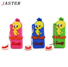 JASTER tweety cartoon duck U Disk pendrive 4GB 8GB 16GB 32GB 64GB minnie mickey usb flash drive memory stick pen drive gift