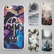 BMTH Bring Me the Horizon Hard White Cell Phone Case Cover for Apple iPhone 4 4s 5 SE 5s 6 6s 7 Plus