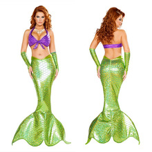 2017  NEW Mermaid costume   Adult  Halloween Mermaid costume