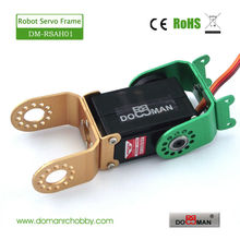 10pcs/lot DM-RS2016MD metal gear 20kg torque low profile 360 degree continuous rotation digital robot servo(China)