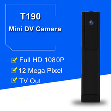 T190 Mini DVR Camera Full HD 1080P H.264 Mini Camera Digital Micro Pen Camera DV Camera Small Video Voice Recorder DVR Camcorder(China)