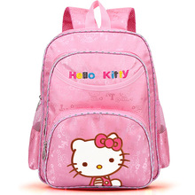 high quality cute cartoon children girl kt kitty cat oxford pink backpack school bag birthday gift