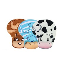 NOYOKERE Practical Lovely Animal Skid Resistance Memory Foam Comfort Wrist Rest Support Mouse Pad Mice Pad(China)
