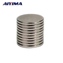 AIYIMA 10pcs N35 20*2MM Round Magnets 20x2 Rare Earth Neodymium Magnets Strong Magnetic Tape Teaching Magnetizer 20mm*2mm
