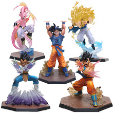 5Styles Dragon Ball Z Figuarts Zero Son Goku Vegeta Kamehameha Super Saiyan 3 Gotenks Majin Buu Spirit Bomb Action Figure Toy(China)