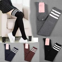 New Designer 100% Brand New And High Quality Women Girl Winter Over Knee Leg Warmer Soft Cotton  Socks Leggin vicky