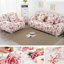 Elastic Sofa Cover Flower Printed Slipcovers On the Sofa Universal Flexible Stretch Cushion Couch Loveseat Funiture Cover Home