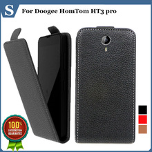 Buy Factory price, Top new style flip PU leather case open Doogee HomTom HT3 pro, gift for $4.98 in AliExpress store