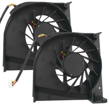 New Laptop Cooling Fan For HP DV6000 For Intel/AMD Original PN:C055515VH-A DFS531205M30T KSB0605HB(DC5V 0.36A) AB7505HF-LBB(China)