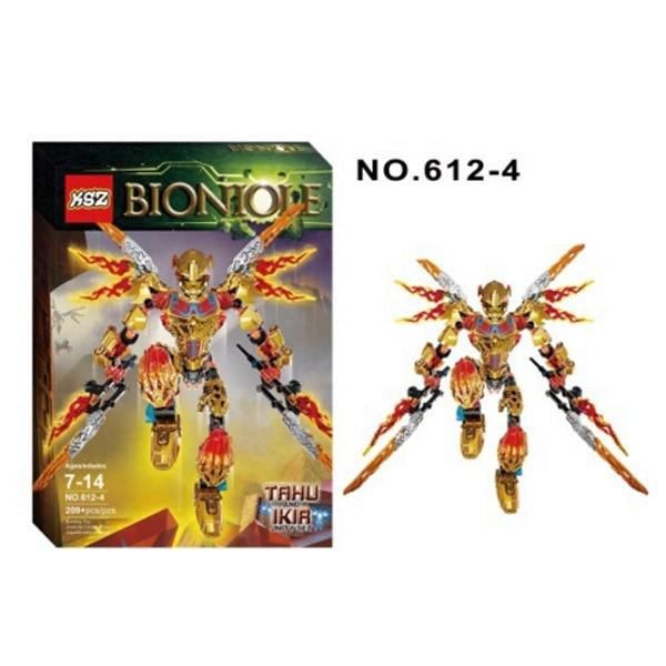 XSZ 612-4 Biochemical Warrior BionicleMask of Light Bionicle Tahu Ikir Bricks Building Block Best Toys Lepin Kazi Bela Sluban<br><br>Aliexpress