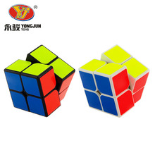 50mm YongJun Professional Magic Cube Competition Speed Puzzle Cubes Educational Classic Toys For Children Kids cubo magico