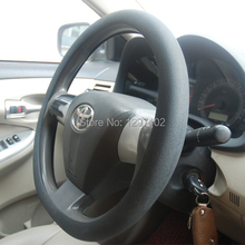hot sale funny colorful silicone universal steering wheel cover can custom your own logo and design