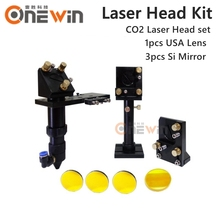Buy CO2 laser head set CO2 lase cutting head+reflective Si mirror 25mm+focus focal lens 20mm co2 laser mount parts for $101.00 in AliExpress store