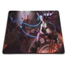 MaiYaCa Jinx Classic Skin Mouse Pad Size 18*22cm and 25*29cm Rubber Soft Anti-Slip Laptop(China)