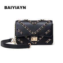 2017 European and American Fashion Knit Chain Handbags Small Fragrant Wind Classic Retro Small Square Bag Shoulder Bag Messenger