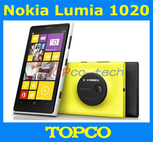Original Nokia Lumia 1020 GSM 3G&4G Unlocked Windows Mobile Phone 8 4.5'' 41MP WIFI GPS RAM 2GB 32GB Internal Storage smartphone