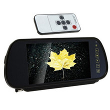 7'' inch Universal LCD Digital HD Car DVR Rearview Mirror Display Rear View Camera Monitor 800x480