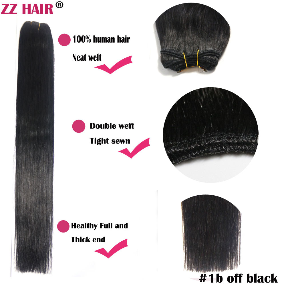 161820222426283032 100g/pcs wholesale silky soft remy Human Hair weft/ weaving #1b free shipping<br><br>Aliexpress